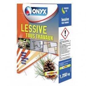 Lessive tous travaux - multi-supports - Onyx ONYX