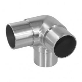 Raccord d'angle pour main courante diamètre 42,4 mm - inox Design Production
