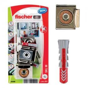 Kit de fixation pour miroir avec chevilles Duopower - SKL-M K NV FISCHER