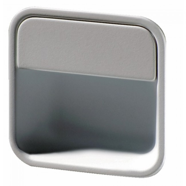 Poignée de meuble cuvette carré arrondi MB 09148A BRICOZOR