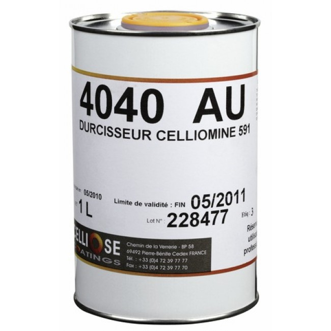 Durcisseur Celliomine 20% 4040 AU pour vernis polyuréthane 1L CELLIOSE