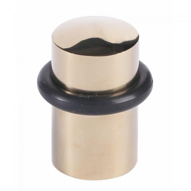 Butoir de sol acier à bourrelet caoutchouc - diamètre 32 x 44 mm BRICOZOR