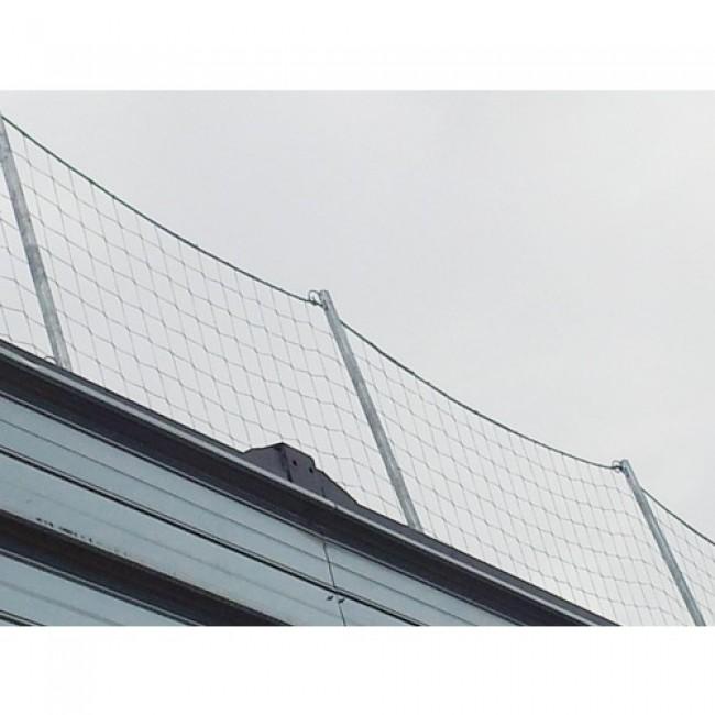 Filet de protection contre la chute - périphérique - garde-corps CORDERIE MESNARD
