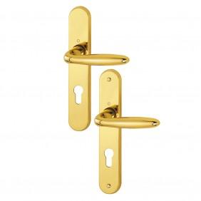 Poignées de porte sur plaques - traitée extérieure - Verona Résista HOPPE
