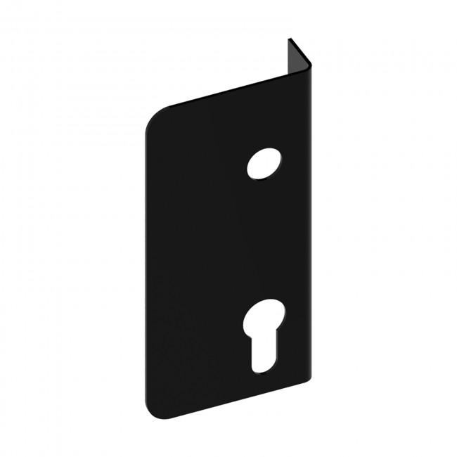 Enjoliveur pour serrure en applique verticale - noir - Modulox - GA TIRARD