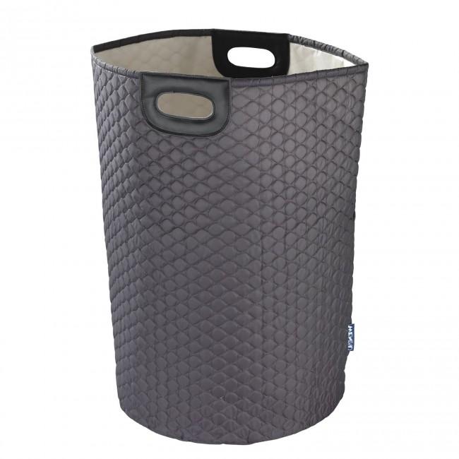 Panier à linge - Wabo - Polyester dessin alvéoles - 75 litres WENKO