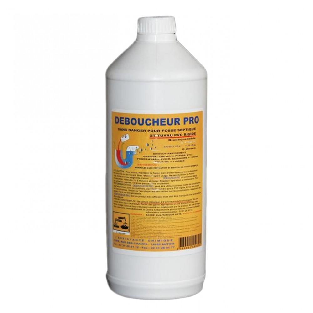 d boucheur professionnel pour fosse septique 1 l assistance chimique bricozor
