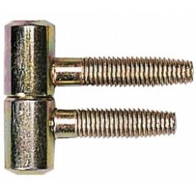 Fiches à noeuds plats courts 530-diamètre 9 mm OTLAV