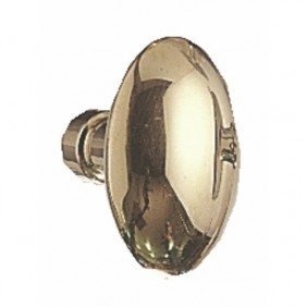 Boutons ovales laiton poli BRICOZOR