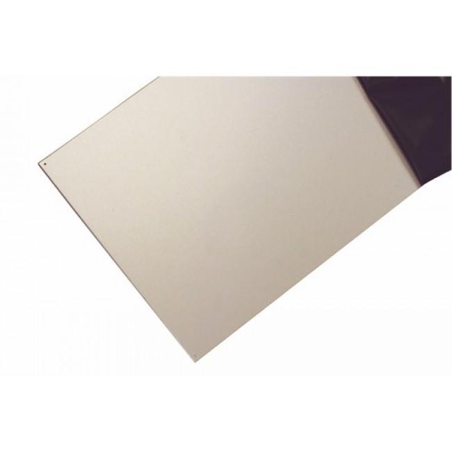 plinthe de porte adh sive en aluminium finition argent. Black Bedroom Furniture Sets. Home Design Ideas