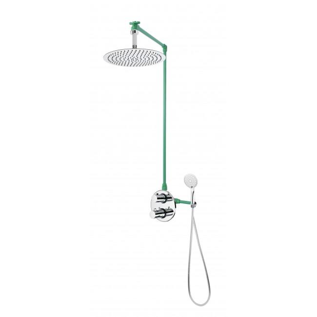 Colonne de douche encastrable MISY avec mitigeur thermostatique SAVONA SARODIS