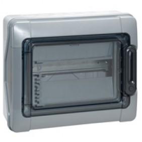 Coffret électrique étanche - 12 modules - 1 rangée - Plexo 3 LEGRAND