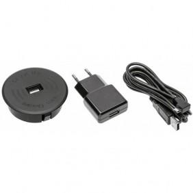 Chargeur à induction sans fil + USB intégré GTV
