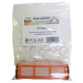 Cartouche de recharge - système de filtration - anti-tartre / anti-corrosion POLAR