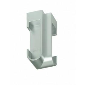 Support d'angle plastique pour tube de penderie 30x15 EMUCA