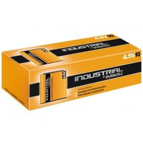 Lot de 10 piles Professionnelles 3LR12 DURACELL Industrial 4,5V DURACELL