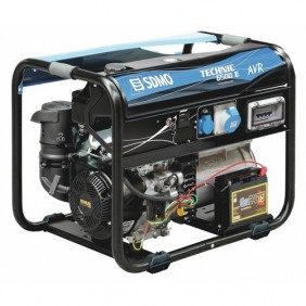 Groupe électrogène 6500W essence monophasé - Technic 6500 E AVR SDMO