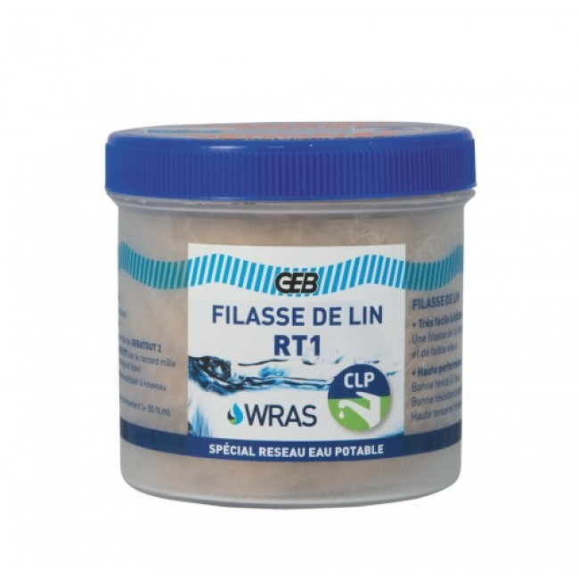 Filasse de lin peignée - étanchéité des raccordements - RT1 GEB
