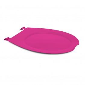 Abattant wc clipsable - 100 % hygiénique - rose PAPADO