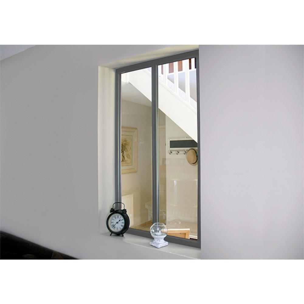 kit verri re int rieure avec vitrage 2 panneaux kit. Black Bedroom Furniture Sets. Home Design Ideas