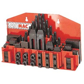Assortiment de cales de serrage t14 ou t16 - 52 pièces Promac