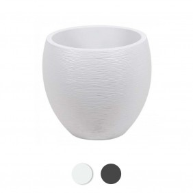 Pot rond - diamètre 50 cm - contenance 46 litres - Graphit EDA PLASTIQUES