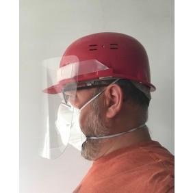 Visière de protection frontale ou sur casque SALOLA