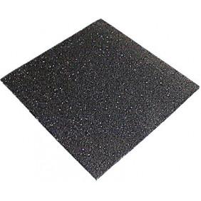 Plaque en caoutchouc recyclé Noma Rub dimensions 600 x 600 mm NMC