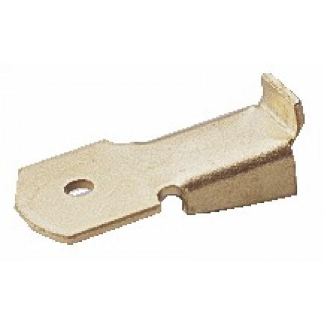 Taquets simples pour crémaillères acier MONIN
