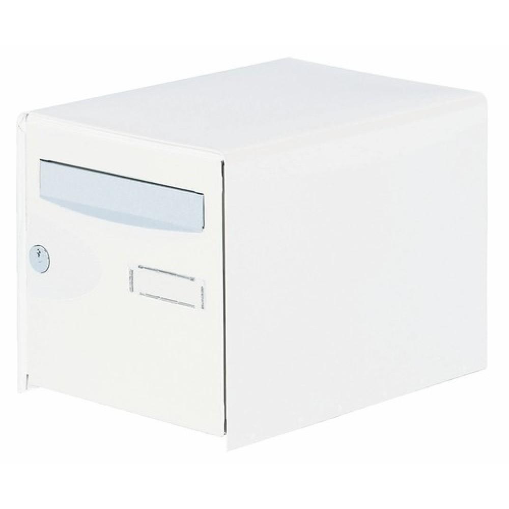 bo tes aux lettres probox double face blanc decayeux bricozor. Black Bedroom Furniture Sets. Home Design Ideas