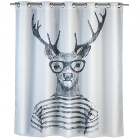 Rideau de douche anti-moisissure - Mr Renne - 180 x 200 cm WENKO