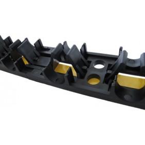 Rail plastique MULTIRAIL pour fixation et supportage MULTITUBO