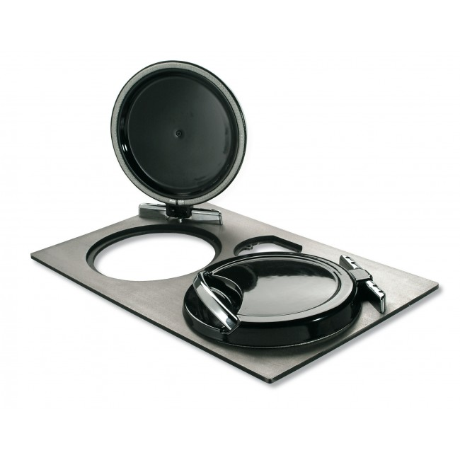 Kit plaque de cuisson en fonte polie - pour cuisinière à bois LA NORDICA EXTRAFLAME