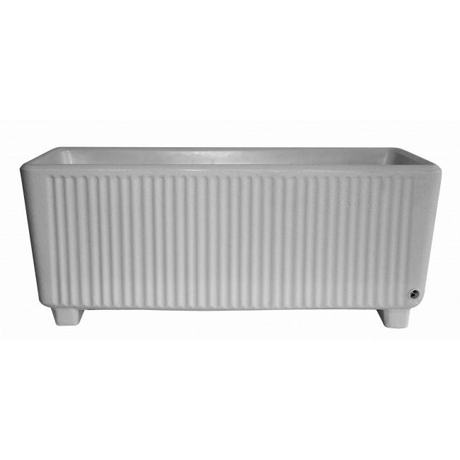 Bac rectangulaire avec réserve d'eau gris - 114 litres - Sequoia 13755 EDA PLASTIQUES