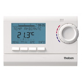 Thermostat programmable digital 7 jours - secteur - RAMSES  812 top 2 THEBEN
