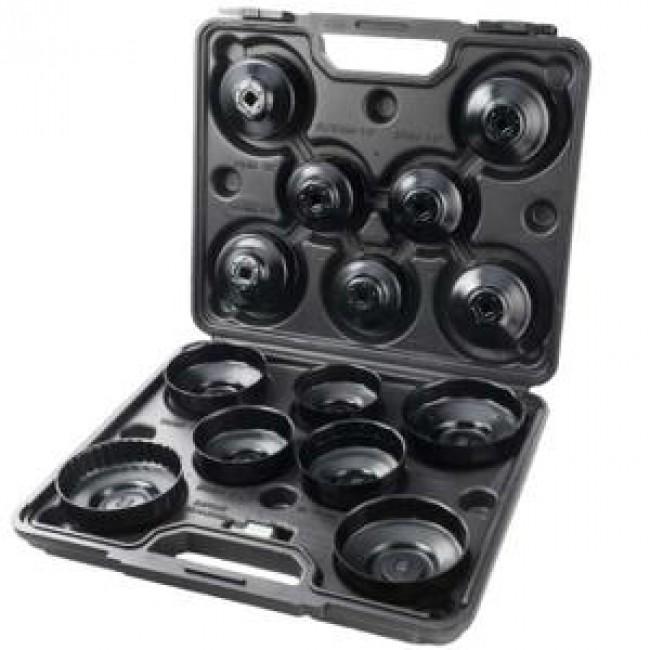 Coffret cloche filtre à huile - 15 pièces TURBOCAR