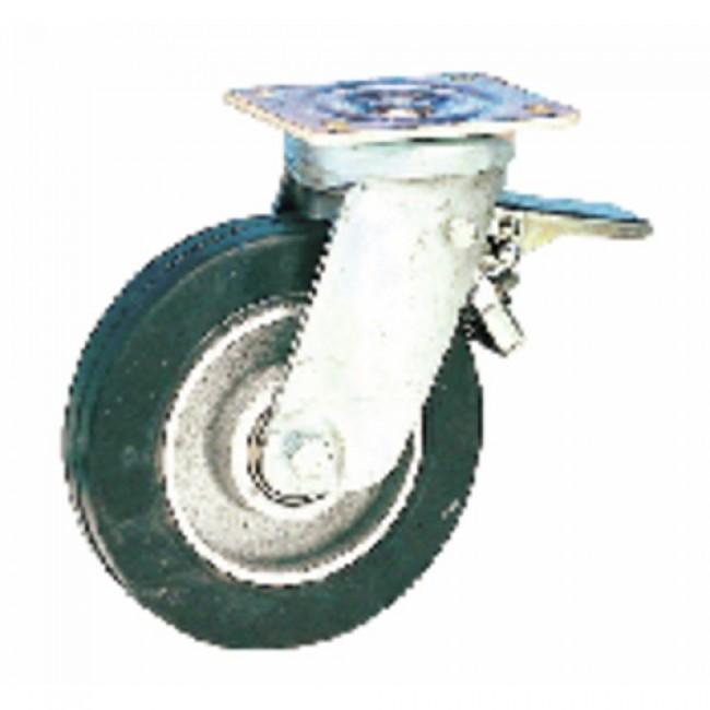 Roulette industrielle Fort-Roll, fortes charges, pivotante + blocage GUITEL