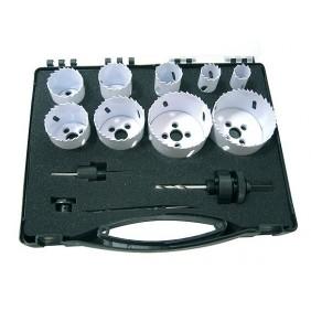 Coffret maintenance 9 trépans bi-métal + accessoires LEMAN