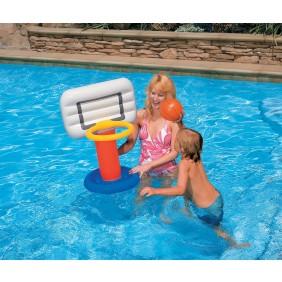 Jeu de basket flottant piscine Intex