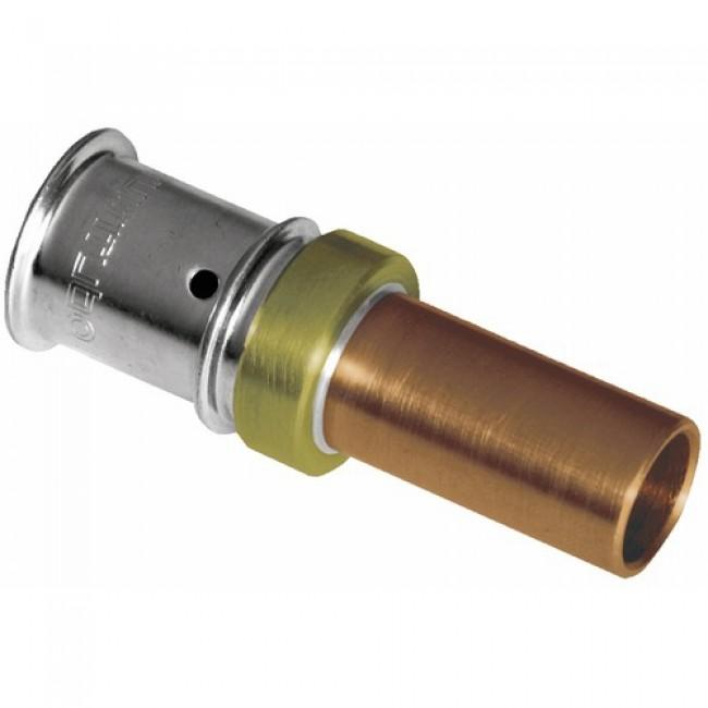 Adaptateur pour tube cuivre sertir multicouches sertir multitubo bricozor - Raccord cuivre a sertir ...