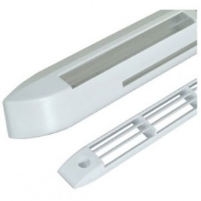 Entrée d'air hygroréglable Aira HY - fenêtre PVC - blanc ANJOS