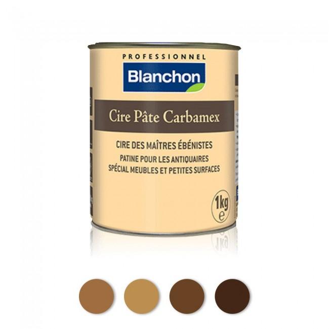 Cire pâte pour restauration et entretien - Carbamex BLANCHON