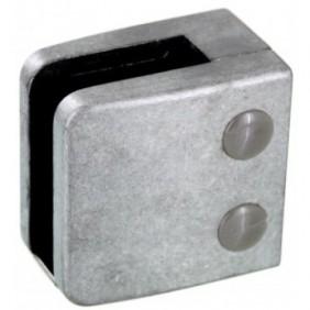 Pinces à verre carré 55x55 mm pour garde-corps - modèle 06 Design Production