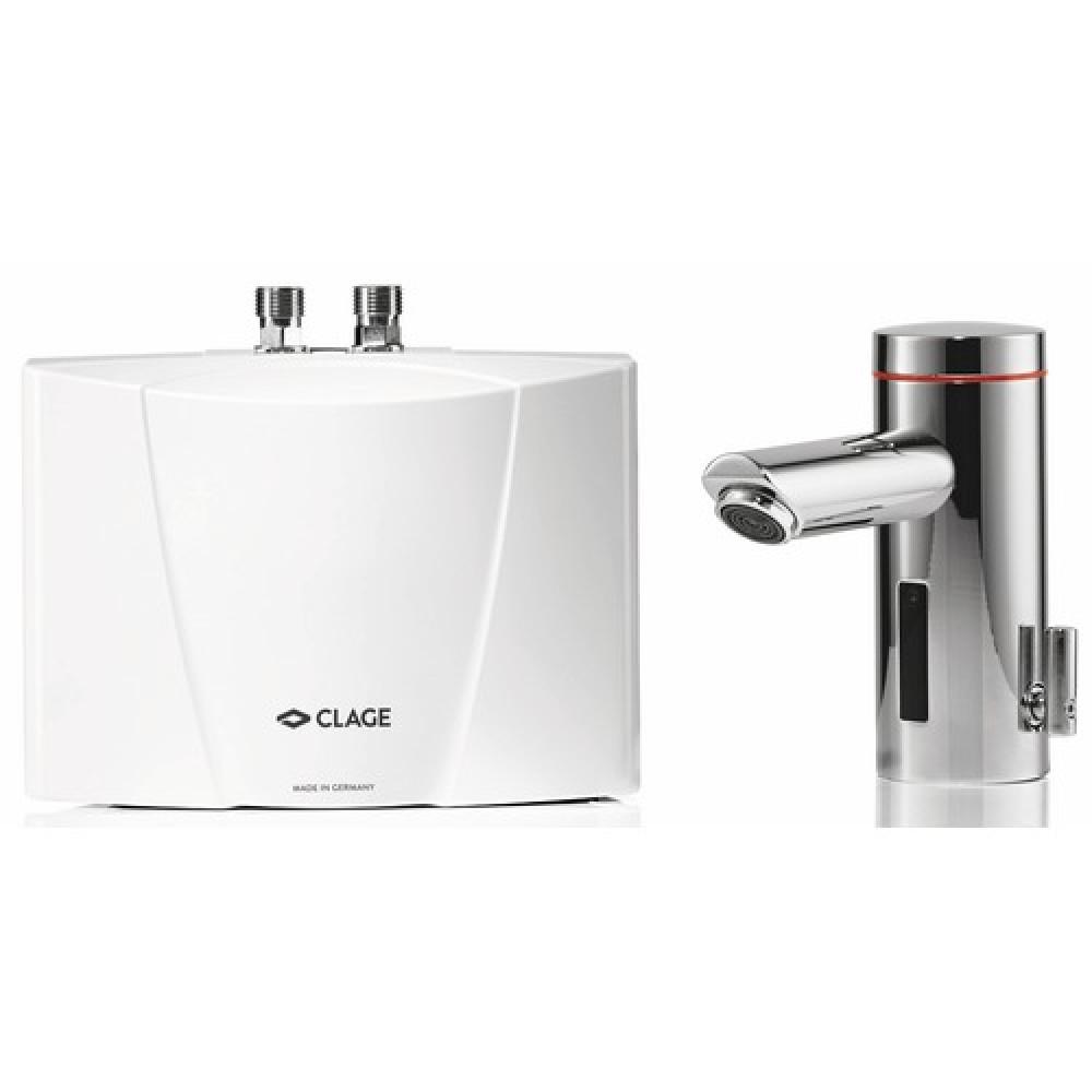 Chauffe eau lectrique avec robinet d tecteur mbx3 lumino clage bricozor - Robinet automatique a detecteur infrarouge ...