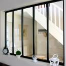 Kit verrière intérieure avec vitrage - 5 panneaux - 108 x 153,2 cm Kit Atelier