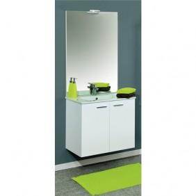 Meuble de salle de bains complet - largeur 60 cm - Angelo Néova
