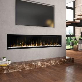 Foyer électrique - Large et qualitatif - Ingnitte XL74 GLEN DIMPLEX