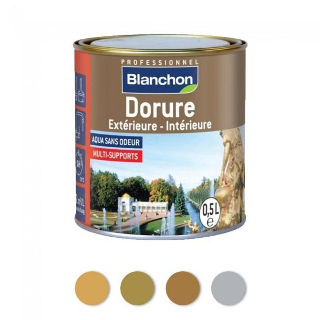 Dorure décorative - intérieur extérieur - acrylique - 0,5 L BLANCHON