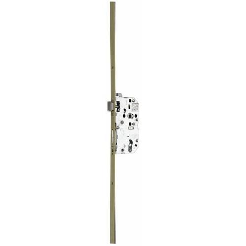 Serrure à larder 5 points - axe 50 mm - têtière 18 mm - Trilock 5000