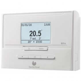 Régulateur modulant - sans fil - pour chaudière - MiPro R SAUNIER DUVAL